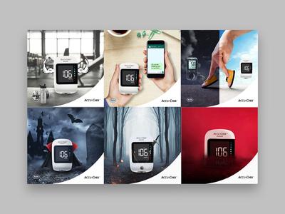 Accu Check Social Media branding