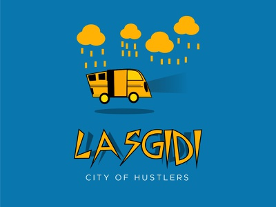 LAGOS || Lasgidi yellow nigeria lagos danfo design illustration