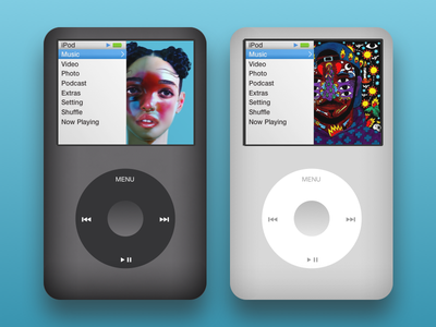 iPod Classic vector art illustration sketch ipod apple