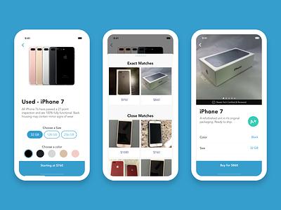 Purchase Workflow ecommerce bottom drawer ios app design avenir mobile app design ux ui design sketch