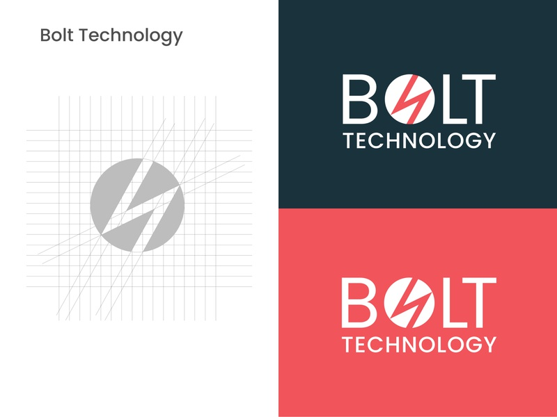Bolt Tech Logo (Day 052) dribbble branding design dailyui 052 figmadesign dailyuichallange logo design dailyui logo