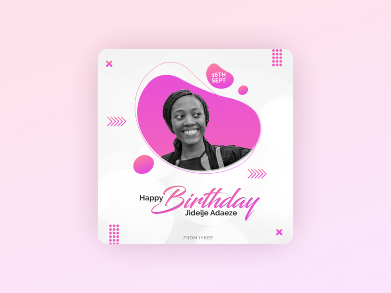 BIRTHDAY DESIGN love abstract figmadesign creative