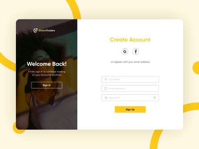 Sign Up page sign up ux webdesign uiux ui ui design figmadesign dribbble