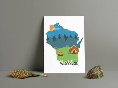 Wisconsin Travel Poster