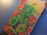 New handdrown moleskine cover