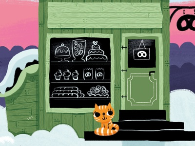 Bakery and Cat