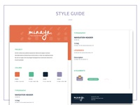 Minaya Style Guide