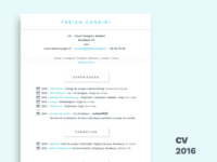 New french resume