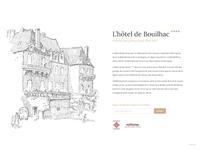Landing page - Hôtel De Bouilhac
