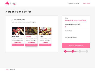 Spreez Beta ux webdesign france bordeaux projet startup spreez