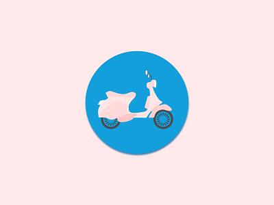 Daily UI #004 icon design transport travel visual design color vector logo dailyui design branding ui