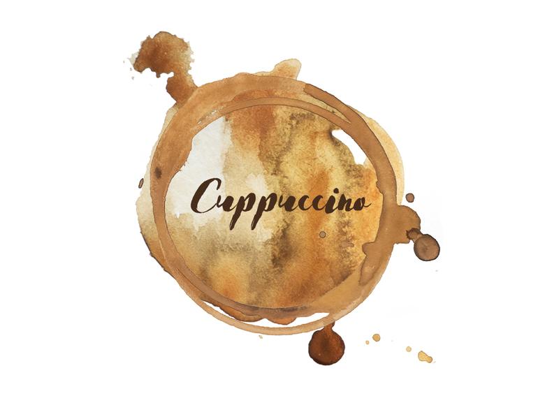 Cuppuccino Coffee Logo #1 brown cappuccino coffee logo coffee logo