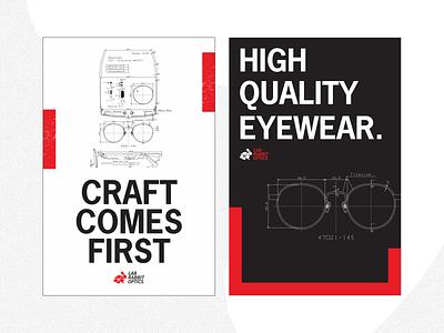 Design Poster Challenge 3 wheat paste poster design poster blueprint challenge local business eyewear glasses design challenge design