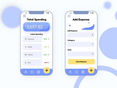Calculator UI daily 100 challenge iphone budgeting dailyui app illustration design buttons branding ui sketch