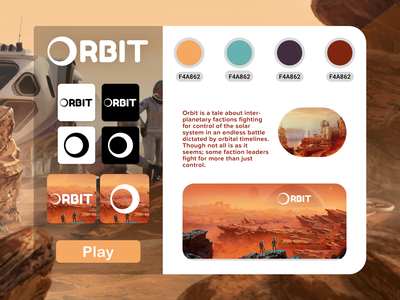 Mobile Game Moodboard dailyui illustration buttons branding mobile design game design mobile ui moodboards concept art concept design sciencefiction playful game moodboard mobile app mobile