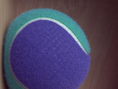 Tennis ball cinema 4d redshift3d render 3d tennis ball