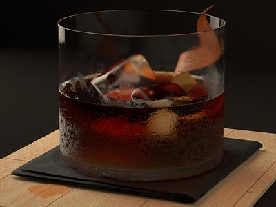 The Aperitivo cocktails aperitivo cinema 4d redshift3d