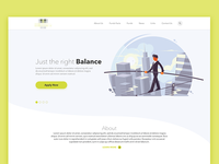 Simplified Landing Page