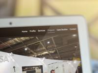 Saxon Design Website