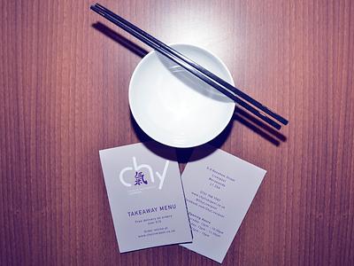 Chy Menu chinese takeaway menu fold outer
