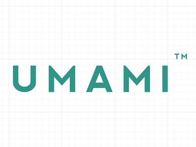Umami logo  forward creative rebrand new logo branding
