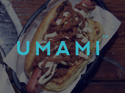 Umami - brand position ad advert visual logo web branding retail comfort hotdogs hospitality food
