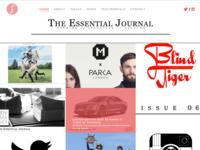 The Essential Journal Website