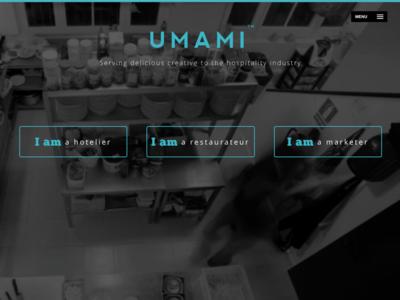 Umami Website Homepage