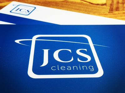 JCS cleaning - branding and logo design flat identity visual hospitality design branding cleaning