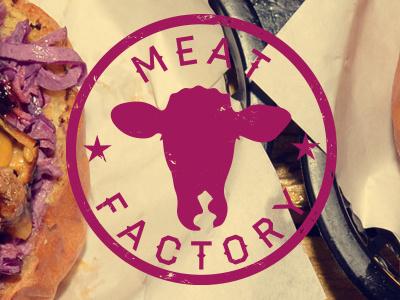 Meat Factory branding restaurant drink food burger meat