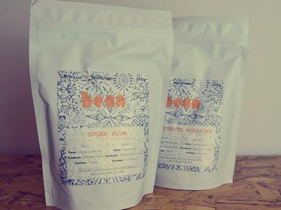 Winter coffee packaging