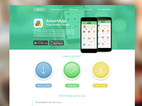 AdvertApp website
