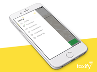 Concept of Taxify app