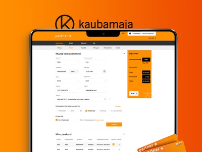 Kaubamaja - Loyalty card system design