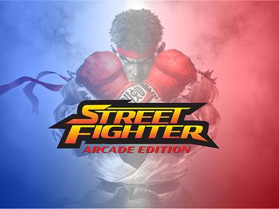 Street Fighter : Logo Redesign graphic design redesign logo