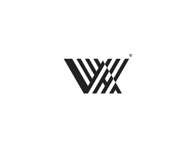Letters - V I W H A symbol geometric logotype logo designer logo design logo lettering letter logo letters construction logo branding brand identity