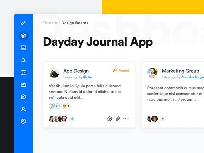Collaboration App Concept ux branding typography icons design icons app design ui