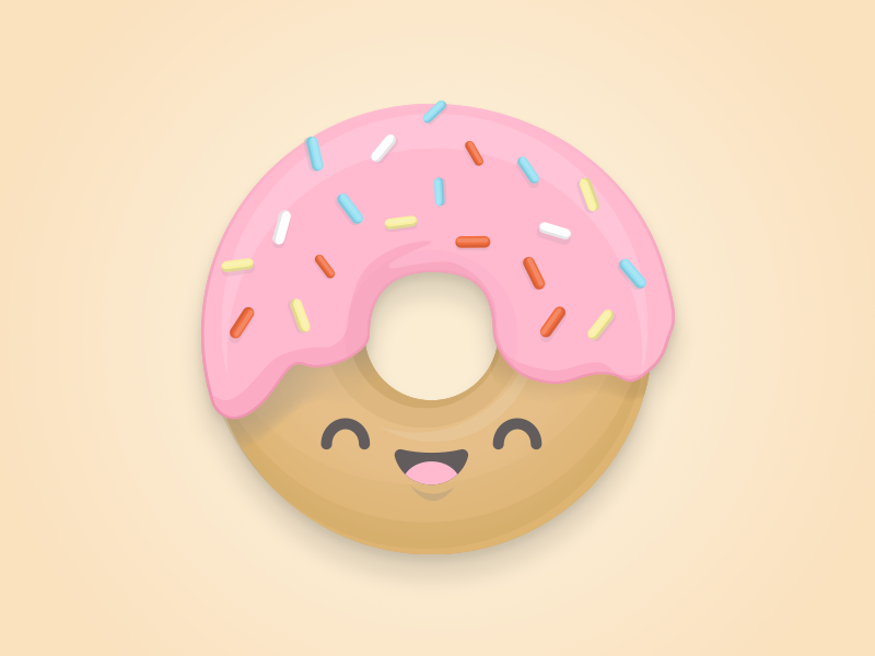 Happy Donut Day doughnut illustration character donut day