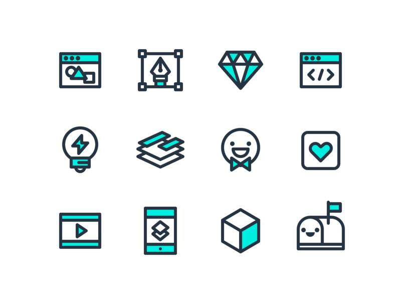 ChipChip icons line icons icon design icons studio ui ux designer portfolio website