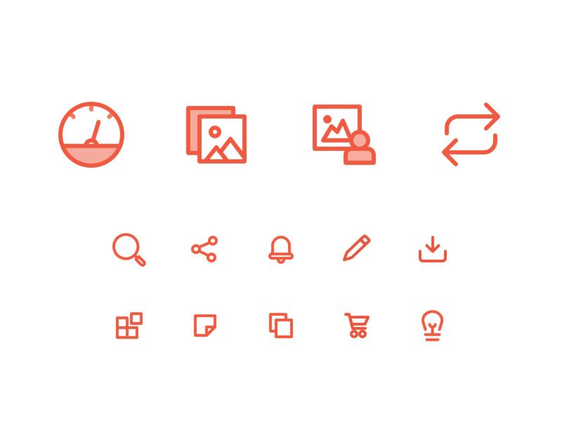Woovtie icons line icons icon design asset management ui ux dashboard desktop application web app