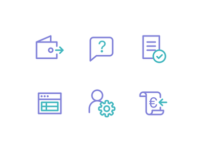 SchoolPay icon design icons icon design line icons school onboarding ui ux web app