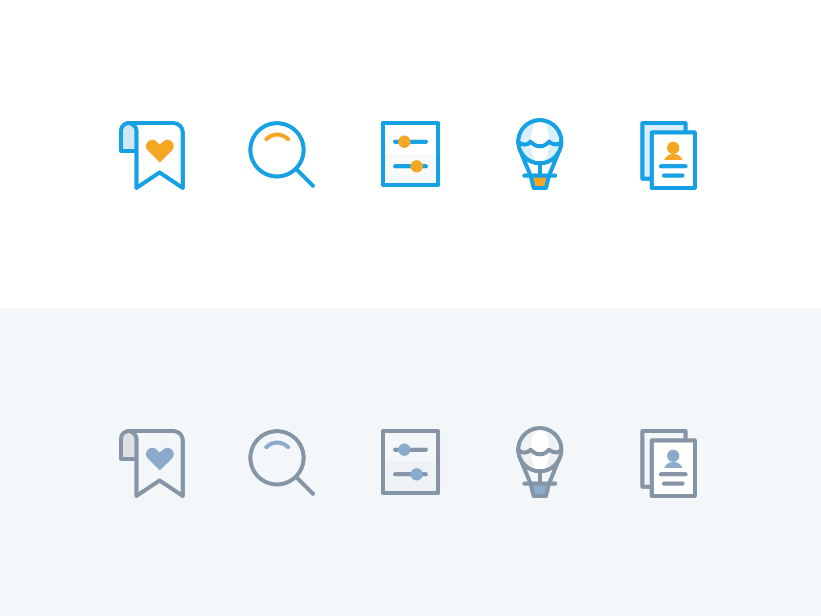 Dribbble workbookers tabbar icons