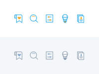 Workbookers tab bar icons