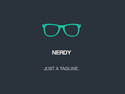Nerdy: Our First Ghost Theme ghost theme