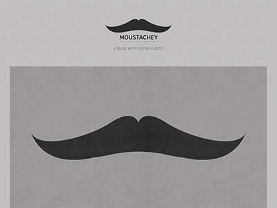 Moustachey Ghost Theme ghost theme