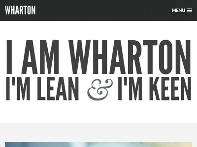 Wharton WordPress & Ghost Theme wharton wordpress theme ghost