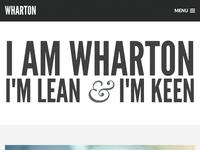 Wharton WordPress & Ghost Theme