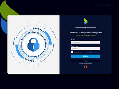 CRM Portal Login Page branding app design minimal app dashboard ui dashboard crm portal design ux ui uxdesign uidesign portal login crm sign up