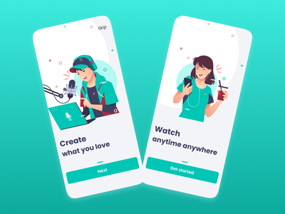 On boarding screens invite inspirations onboarding ui graphic design best dribbble behance inspiration mobile uidesign design onboarding screen illustration app minimal illustrations ux ui app design onboarding