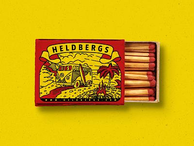 matchbox heldbergs matchbox illustration